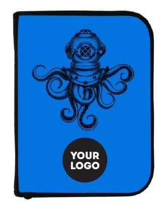 Binder, 3 Ring W/insert, Octopus
