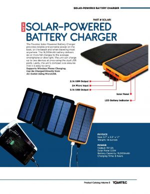 Solar-powered Battery Charger