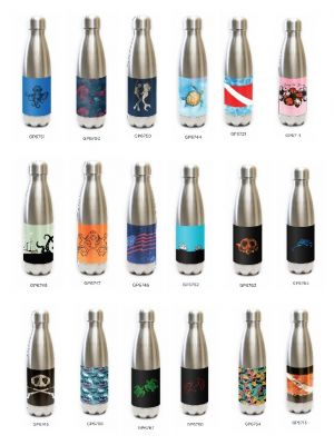 Stainless Steel Tapered Water Bottles