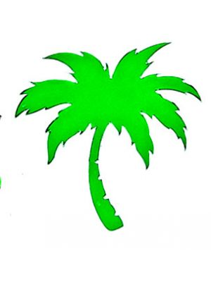 In Bloom Die Cut Sticker - Palm Tree #842