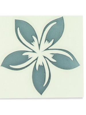In Bloom Die Cut Sticker - Tropical Flower #004