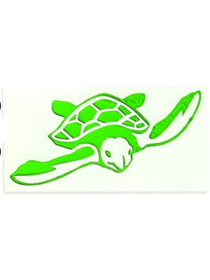 In Bloom Die Cut Sticker - Turtle #740