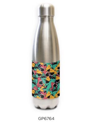 SS Tapered Water Bottle - Retro Shark