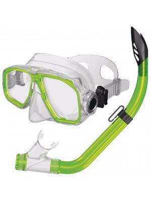 Junior Snorkel Set - Green