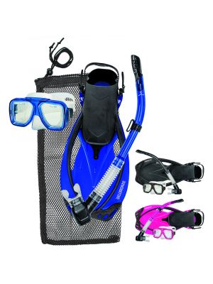 Reef Mask, Fin & Snorkel Set
