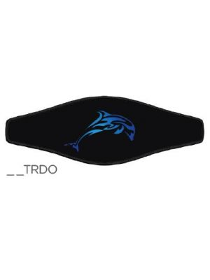 Picture Strap Wrapper - Tribal Dolphin