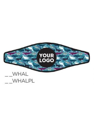 Picture Combo Strap - Whales