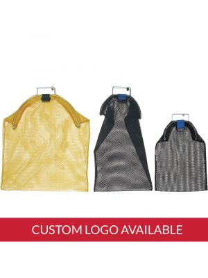 Wire Handle Mesh Bags with Imprint